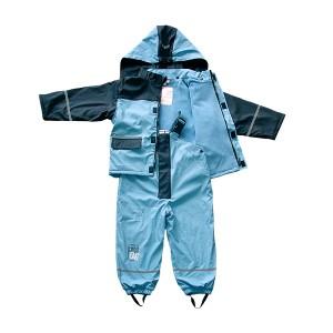 GL5617 Kids' PU Rainsuit with Hood