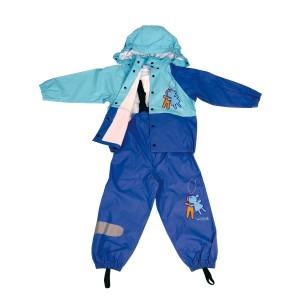 GL5619 Kids' PU Rainsuit with Hood