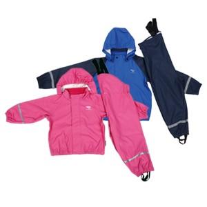 GL5620 Kids' PU Rainsuit with Hood