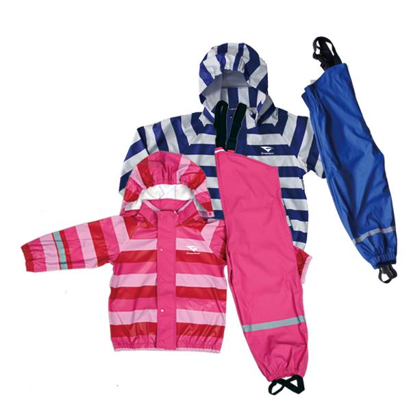 GL5622 Kids' PU Rainsuit with Hood