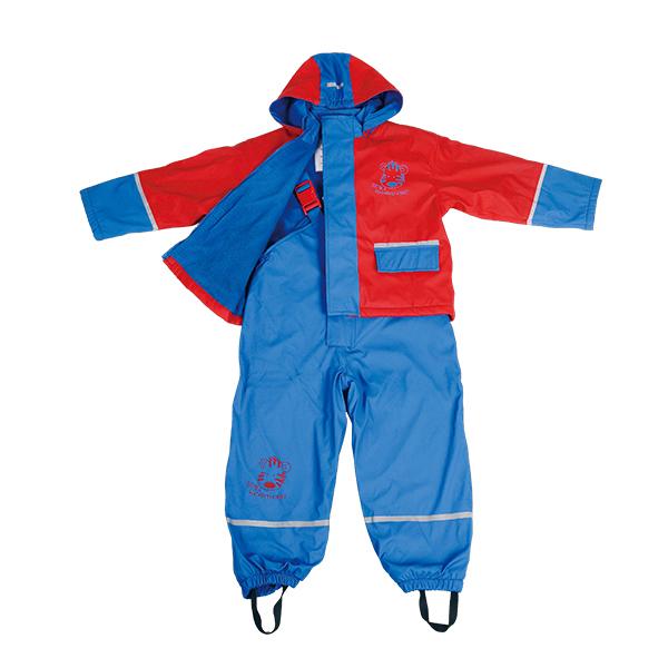 GL5626 Kids' PU Rainsuit with Hood