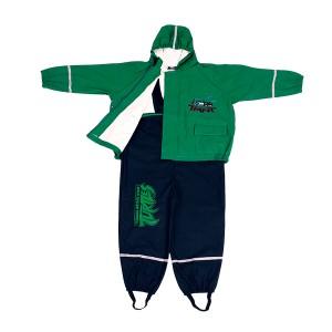 Cheap price Shopping Bag - GL5627 Kids' PU Rainsuit with Hood – Greenland