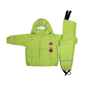 GL5659 Kids' PU Rainsuit with Hood