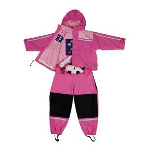 GL5664 Kids' PU Rainsuit with Hood