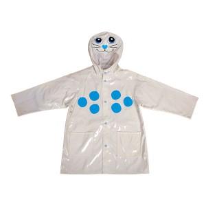 GL5666 Kids' PU Rain Jacket with Hood