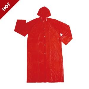 professional factory for Softshell Waterproof Jacket - GL5672 PVC Long Raincoat – Greenland