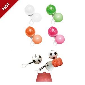 GL5677 Rain Poncho with Plastic Ball