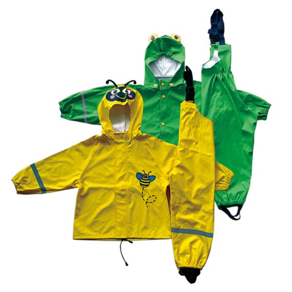 GL5730 Kids' PU Rainsuit with Hood