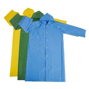 GL5816 PEVA Long Raincoat