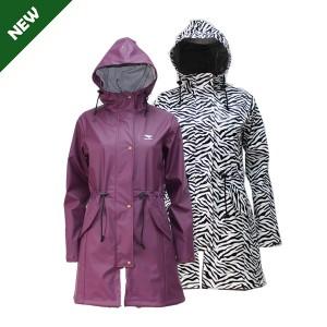 GL6805 Women's PU raincoat with Hood