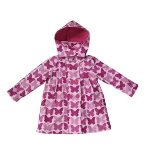 GL6812 Kids' PU Rain Jacket with Hood