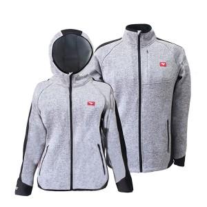 GL8290 sweater bonded jacket for lady & men