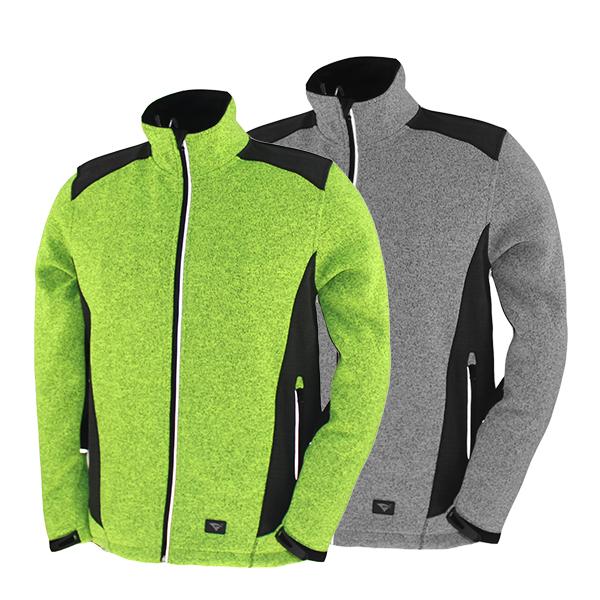 GL8298 sweater bonded jacket for men