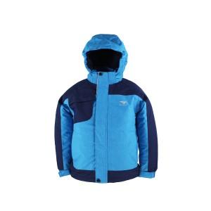 GL8370B Kids Outdoor Winter Ski Jacket with Water Proof Fashion Melange Fabric