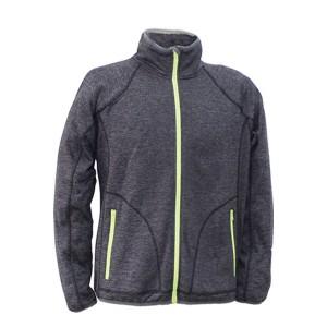 GL8417 Outdoor mélange fleece jacket for women with soft fleece Fabric