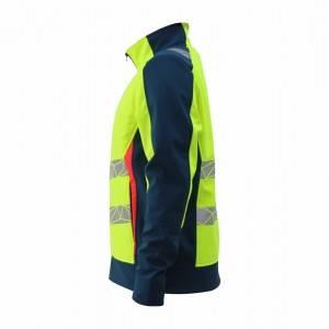 GL8640B Modern  Hi-Vis Color Softshell Jacket for Men