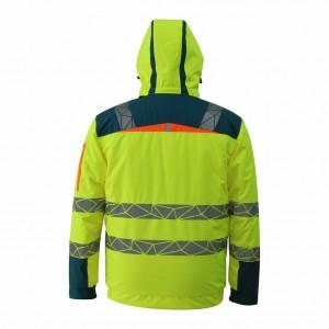 Best Modern Hi Vis Winter Workwear Jacket for Men