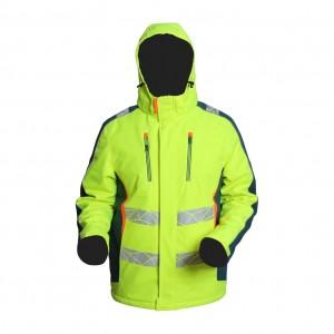 Softshell modern workwear jacket for men